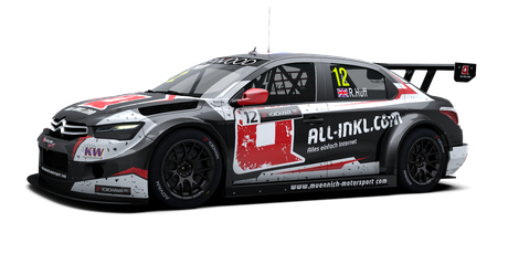 ALL-INKL.COM Münnich Motorsport - #12 - 2017
