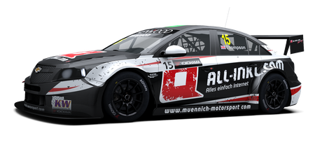 All-Inkl.com Münnich Motorsport - #15 - 2016