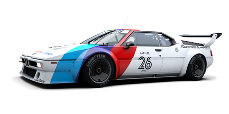 BMW Motorsport / Project Four Racing - #26
