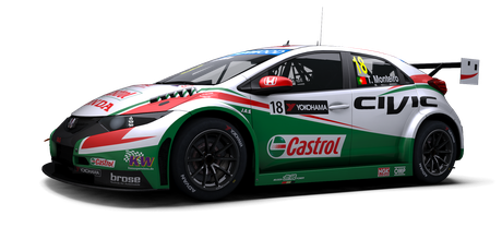 Castrol Honda World Touring Car Team - #18