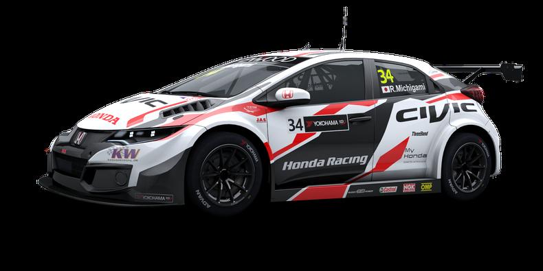 Honda Civic Wtcc 2017 Store Raceroom Racing Experience