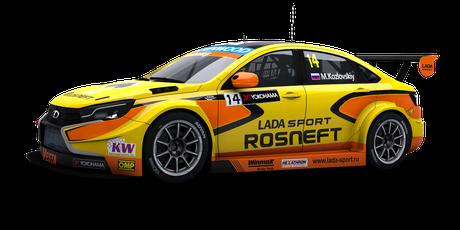 Lada Sport Rosneft - #14