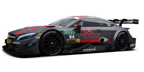 Mercedes-AMG DTM Team HWA 2 - #84