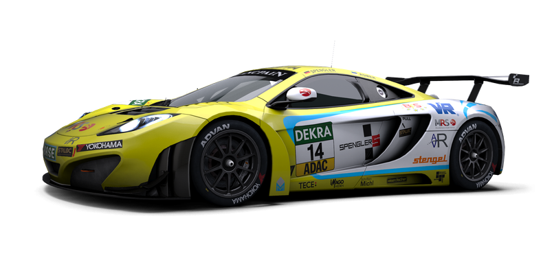 Mclaren Mp4 12c Gt3 Store Raceroom Racing Experience