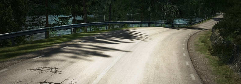 The Lakeview Hill climb is a fictional hill climb track influenced by