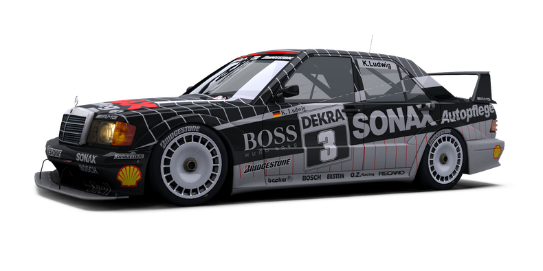 Mercedes 190e evo ii dtm store raceroom racing experience for Mercedes benz car racing games