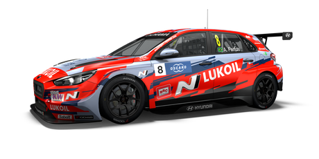 BRC Hyundai N LUKOIL Racing Team - #8