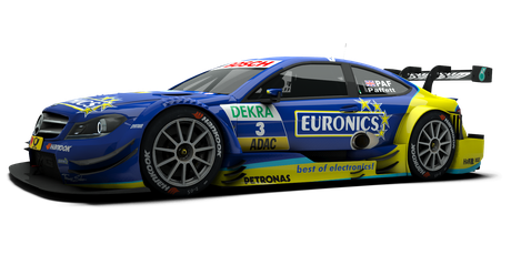 EURONICS / THOMAS SABO Mercedes AMG - #3