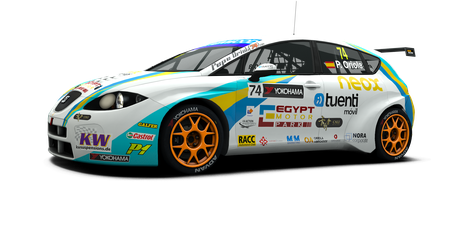 Tuenti Racing Team - #74