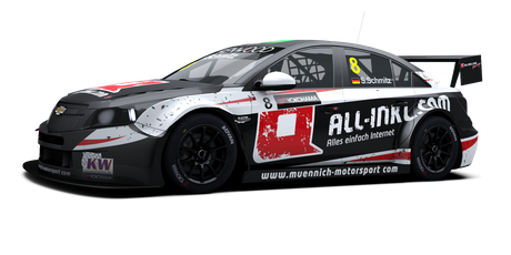 All-Inkl.com Münnich Motorsport - #8 - 2016