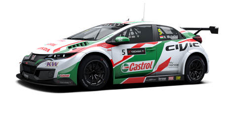 Honda Racing Team JAS - #5 - 2017