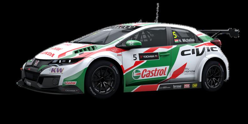 Honda Civic WTCC 2017