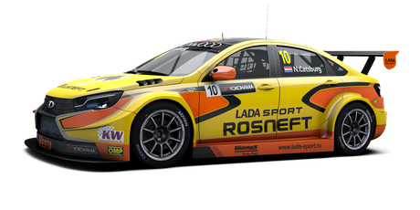 LADA Sport Rosneft - #10 - 2016