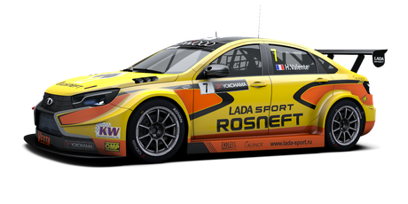 LADA Sport Rosneft - #7 - 2016