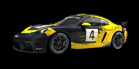 Porsche 718 Cayman GT4 Clubsport