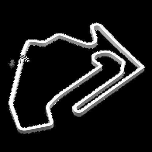 Intermediate circuit no chicane