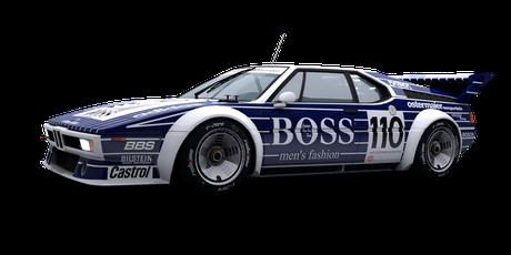 BMW M1 Boss - #110