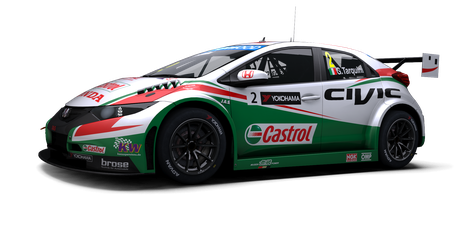 Castrol Honda World Touring Car Team - #2
