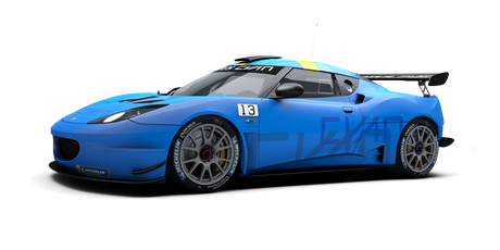 Lotus Cyan Racing - #13