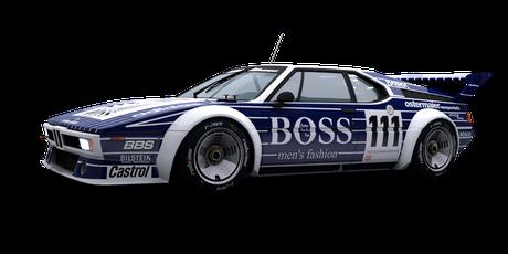 BMW M1 Boss - #111