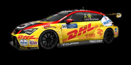 Comtoyou DHL Team CUPRA Racing - #50