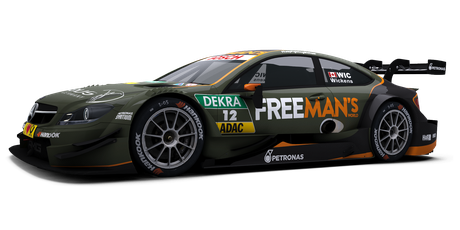 Free Man's World Mercedes AMG - #12