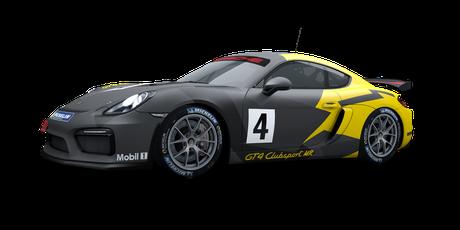 Porsche Cayman GT4 CS MR