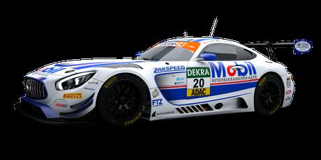 Team Zakspeed BKK Mobil Oil Racing - #20