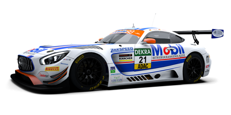 Team Zakspeed BKK Mobil Oil Racing - #21