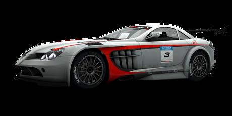McLaren-Mercedes SLR 722 GT