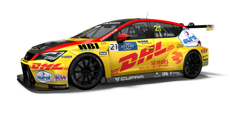 Comtoyou DHL Team CUPRA Racing - #21