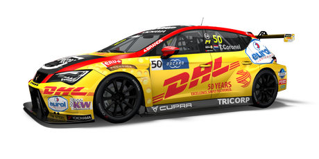 Comtoyou DHL Team CUPRA Racing - #50
