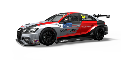 Comtoyou Team Audi Sport - #10