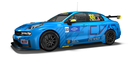Cyan Racing Lynk & Co - #100