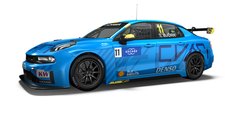 Cyan Racing Lynk & Co - #11