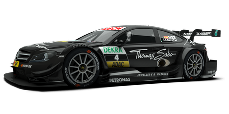 EURONICS / THOMAS SABO Mercedes AMG - #4
