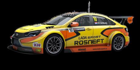LADA Sport Rosneft - #10