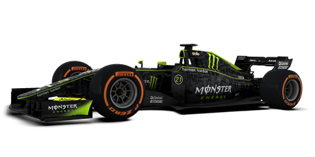 Monster Energy - #21