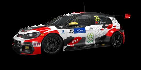 SLR VW Motorsport - #25