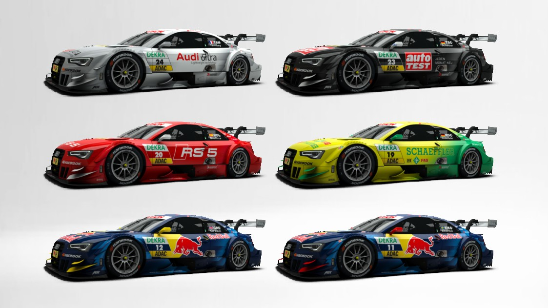 Audi Rs 5 Dtm Store Raceroom Racing Experience